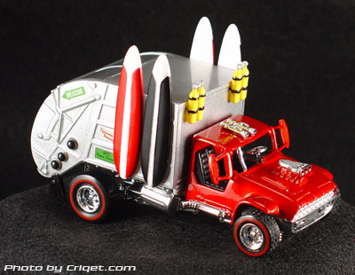 Product Toy Zone Garbage Truck Diecast 1 43
