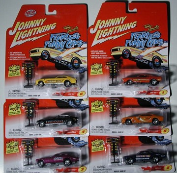 & Product: Johnny Lightning Fearless Funny Car Set azcodes.com